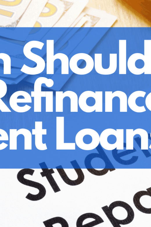 should i refinance my stuent loans