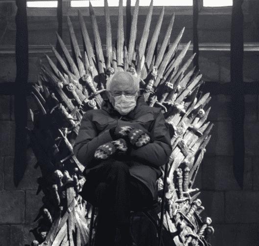 game of thrones bernie meme