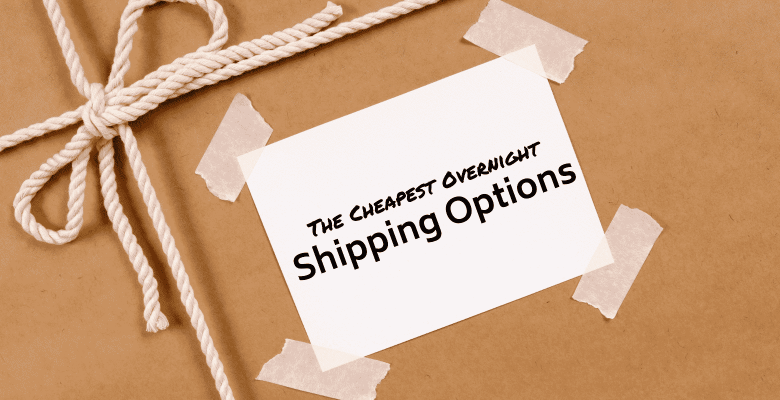 cheapest overnight shipping