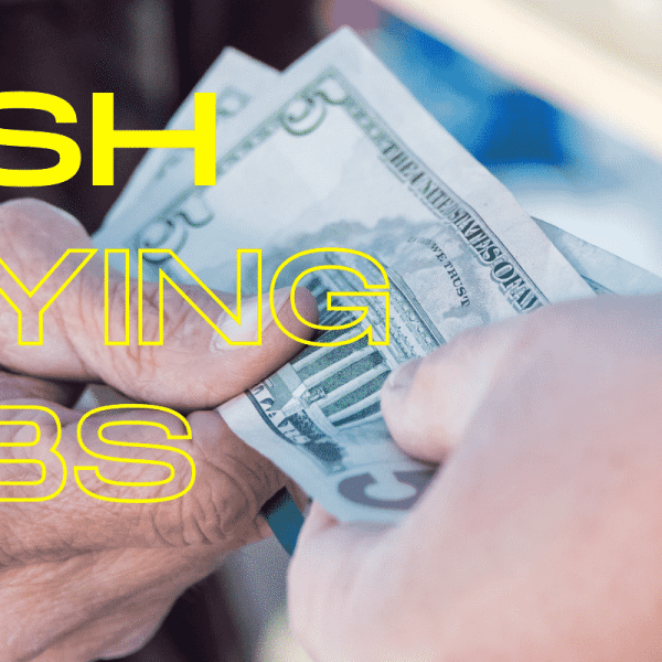 cash paying jobs near me