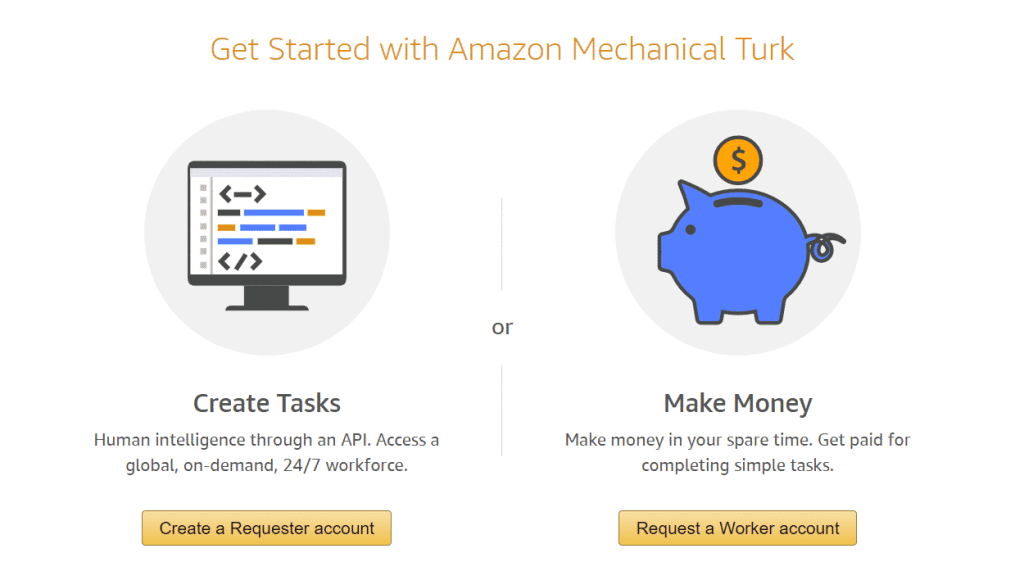 how to get sign up for mturk