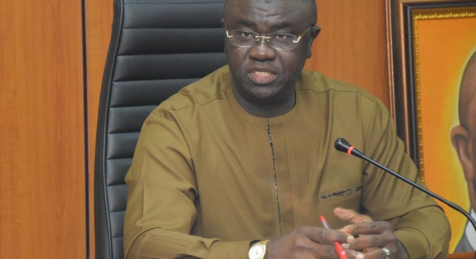 Minister of State for Finance, Budget, and National Planning, clem agba