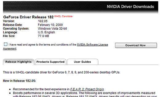 NVIDIA Driver Downloads