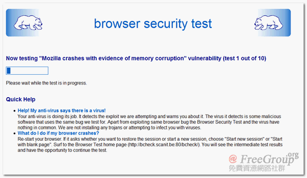 scanit - browser security test