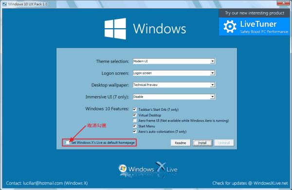 Windows 10 Transformation/UX Pack