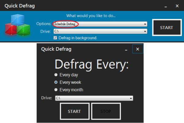Quick Defrag