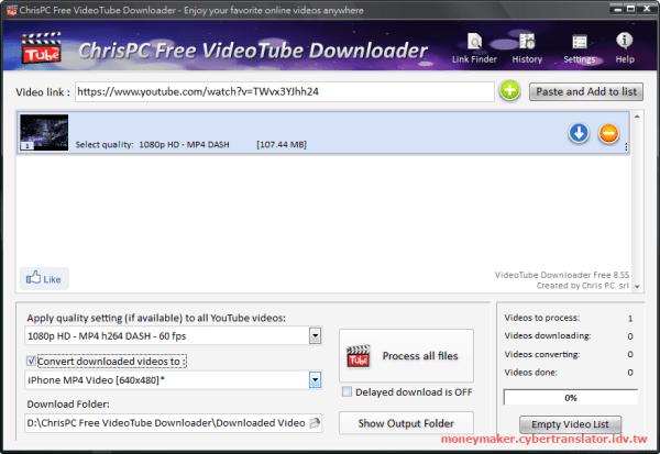 ChrisPC Free VideoTube Downloader
