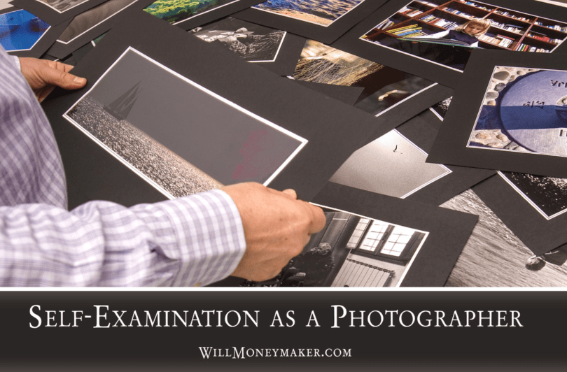Self-Examination as a Photographer