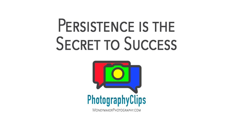 Persistence is the Secret to Success
