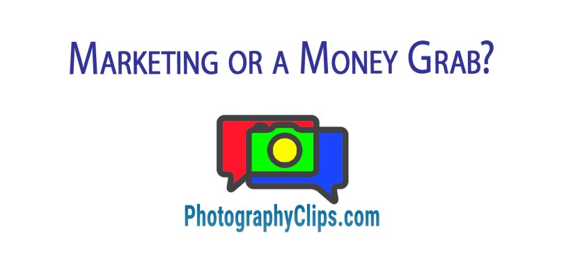 Marketing or a Money Grab?