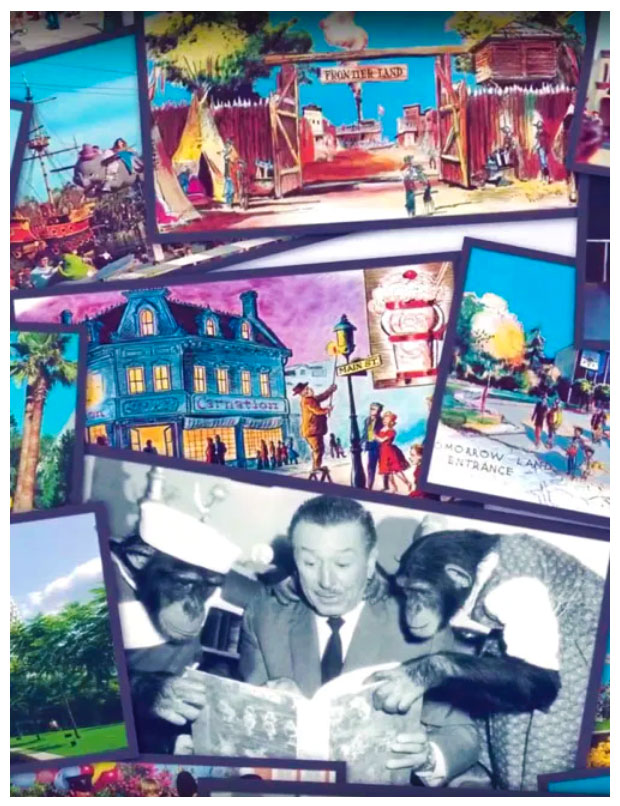 Disney Postcards