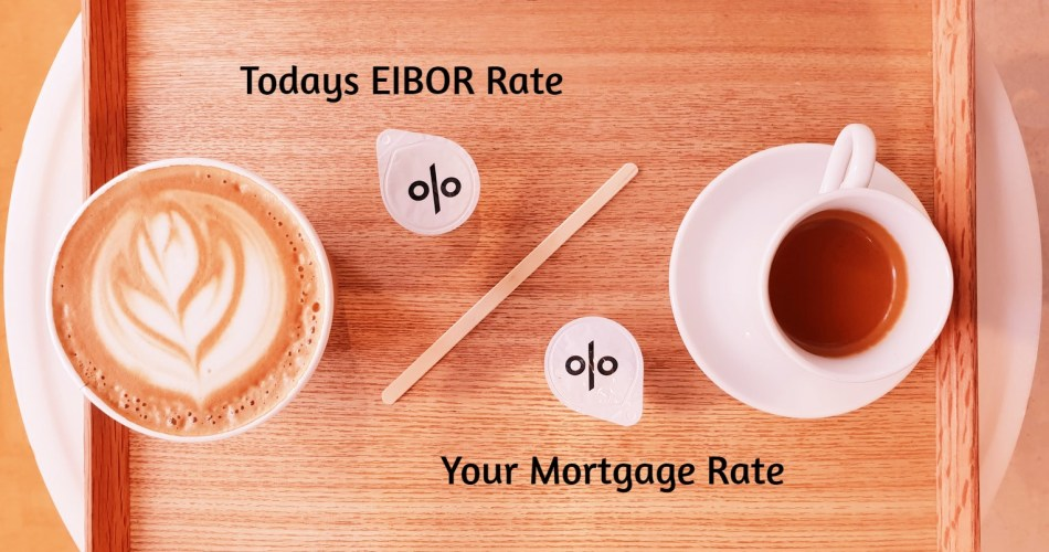EIBOR - Todays 3 month EIbor - Mortgage