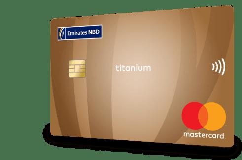 Emirates NBD Titanium Master Card