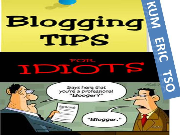 Blogging Tips For Idiots