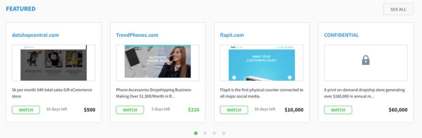 Make money online by buying and re-selling websites