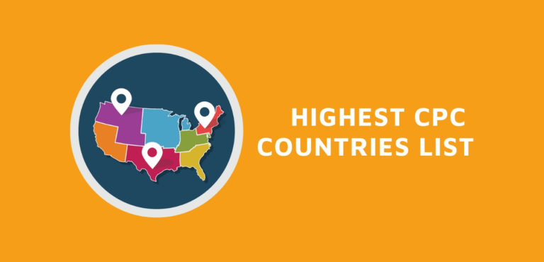 List of top Adsense Highest CPC Ranking By Countries