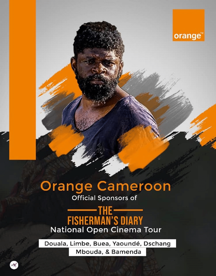 Official graphic from Orange Cameroon-the fisherman's diary
