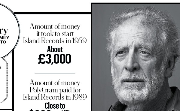 Chris Blackwell Featured in the New York Times
