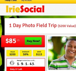Irie Social Daily Deals Site