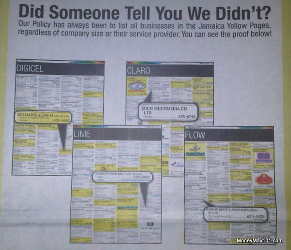 Yellow Pages - Cell Phone Ad Campaign