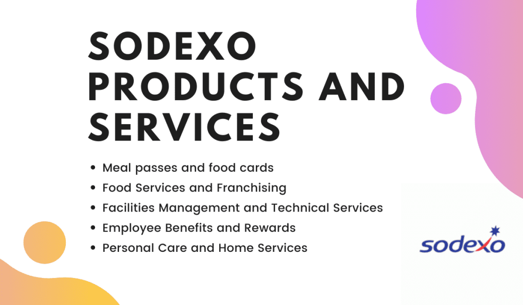 Sodexo Products and services