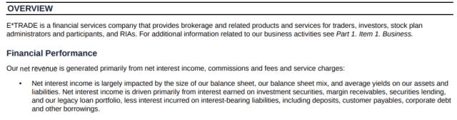 eTrade financial report - How does etrade make money and what is the etrade business model - How much money does etrade make