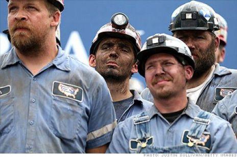 coal miners photo