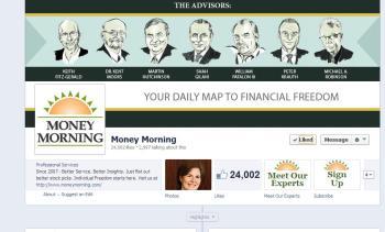 money morning facebook