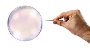 Risky Bubbles