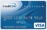 Bad Credit Card Credit One