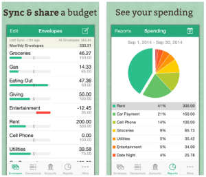 expense tracking goodbudget