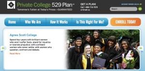 private college 529 plans