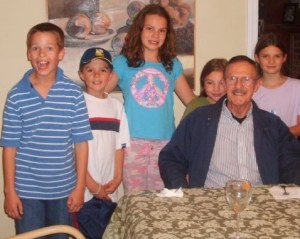 alzheimers disease grandpa and children
