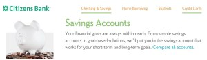 best bank tools boost savings citizens bank