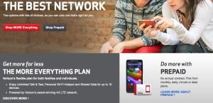 prepaid phone plans verizon