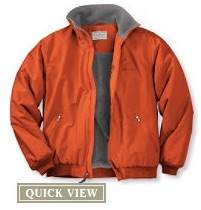 return this ll bean jacket any time lose value