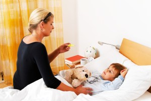 save on child care lost pay sick kid
