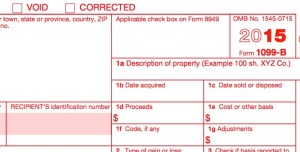 tax extension 1099 corrected