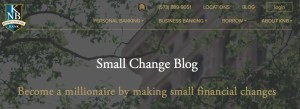best bank blogs small banks small change