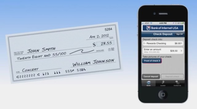 cash check iphone bank of internet 4