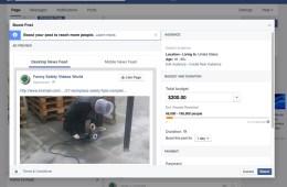 facebook money creating a facebook ad