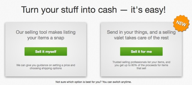 how to sell on ebay choose selling method