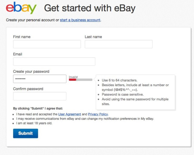 how to sell on ebay open an ebay account