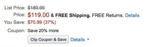 save money amazon free shipping