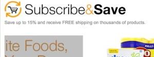 save money amazon subscribe