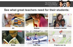 stephen colbert donation donors choose school teachers