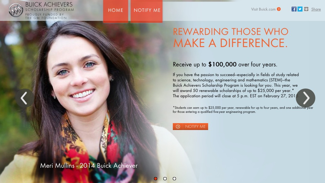 Buick Achievers Scholarship >> Big Scholarships: Where They Are, How to Get Them - Money ...