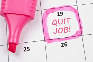 how does a small online business owner know when to quit day job