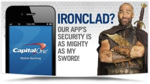 is iphone banking safe capital one