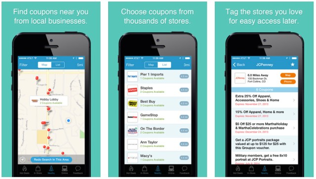 iphone coupon apps coupon sherpa